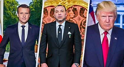 ترامب يحمل مسؤولية الحراك بالريف لفرنسا ويشيد بالملك محمد السادس