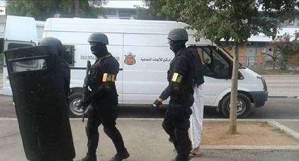 """رجال الخيام يعتقلون """"داعشي"""" متخصص في صناعة المتفجرات والاحزمة الناسفة"""
