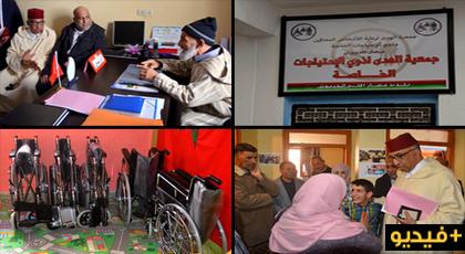 في اليوم الوطني للمعاق.. عامل إقليم الدريوش يقف على وضعية ذوي الاحتياجات الخاصة بجمعية الهدى