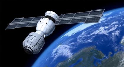 القمر الصناعي الصيني الذي يهدد المغرب  يدخل للغلاف الجوي للأرض