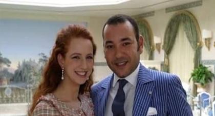 ردا على الاشاعات.. هكذا احتفل الملك محمد السادس بعيد زواجه مع الاميرة للا سلمى