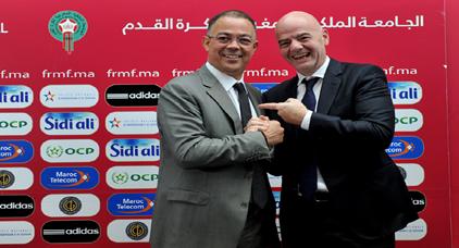 الفيفا تجيب المغرب بشأن التعقيدات التي فرضتها على البلدان المرشحة لاحتضان مونديال 2026