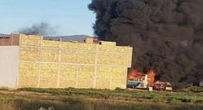 المحكمة تقضي بتعويض الدولة لمالكي منزل الشرطة المحترق بإمزورن