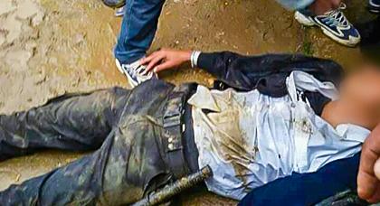 سائق ناقلة بضائع يرسل شرطيا إلى المستشفى إثر دهسه بطريقة مروعة