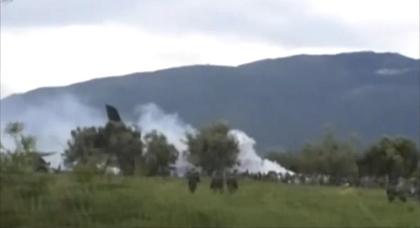 تحطم طائرة عسكرية يسفر عن ضحايا من البوليساريو