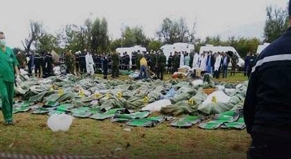 هؤلاء هم عناصر البوليساريو ضحايا حادث الطائرة العسكرية الجزائرية