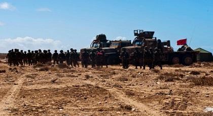 الجزائر تواصل دفع البوليساريو إلى مواجهة المغرب وتدخل القوات المسلحة بات وشيكا