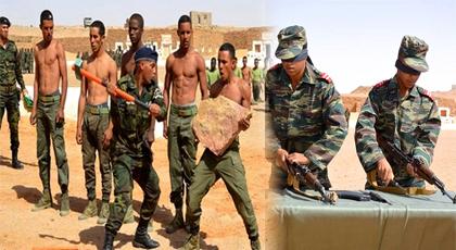 """بالصور.. هكذا تستعد جبهة """"البوليساريو"""" الانفصالية للحرب مع المغرب بخدعة جيش الصحراء"""