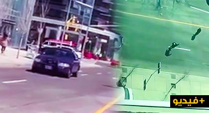 مثير على طريقة الهوليود.. مواجهة بالمسدسات بين شرطي ومنفذ عملية الدهس في تورونتو