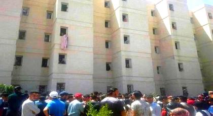 مأساة.. طالبة تلقي بنفسها من الطابق الثالث للإقامة الجامعية بوجدة وهذه تفاصيل الحادث