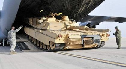 """المغرب يتسلم دفعة جديدة من الدبابات الأمريكية """"أبرامز"""" المزودة بالليز"""