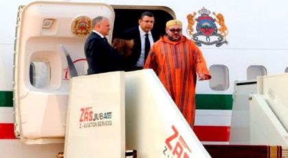 بعد زيارة رسمية لبرازافيل.. هذا موعد عودة الملك محمد السادس لأرض الوطن