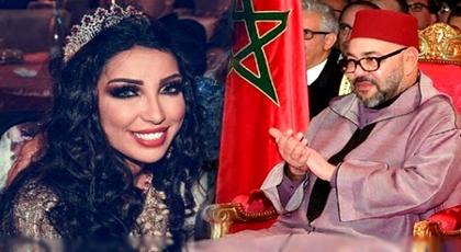 بالدموع.. الفنانة دنيا باطمة تتلقى برقية من الملك محمد السادس وهذا ما جاء فيها