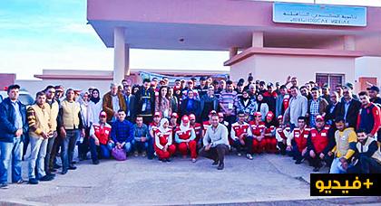 دار الكبداني و آيت مايت تستفيدان من حملة طبية ناجحة بإمتياز