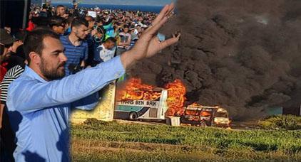 """الزفزافي يقسم على القرآن لنفي أقوال شاهد """"يريد توريطه"""" في وقائع حريق منزل الشرطة بامزرون"""