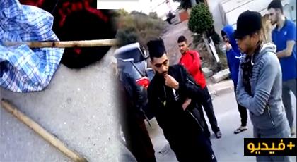 """فيديو خطير.. مواطنون يضبطون 6 أشخاص ينقبون عن """"كنز"""" بغابة الرهراه"""