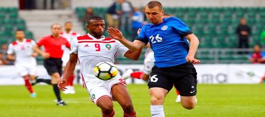 شاهدوا الفيديو.. المنتخب الوطني ينتصر على إستونيا بثلاثية والكعبي يخطف الأنظار