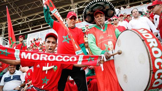 هذا ما سيقوم به الجمهور المغربي في الدقيقة 34 من لقاء الاسود بالمنتخب الايراني