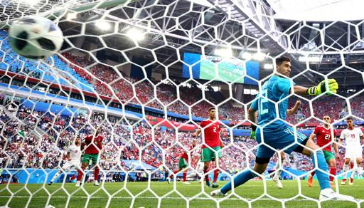 مونديال 2018.. إيران تخطف فوزا قاتلا من المنتخب المغربي في أول مباراة بروسيا