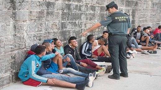 تقرير: 108 آلاف مغربي هاجروا إلى إسبانيا خلال 4 سنوات