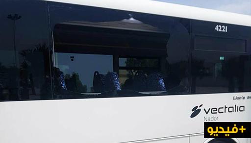 آش هادشي.. تكسير زجاج حافلة أخرى بسلوان