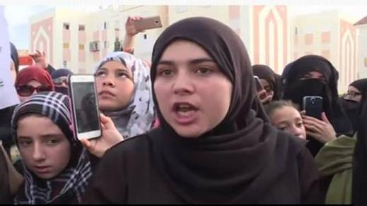 بشرى .. قصة شابة من الحسيمة رهنت حياتها لخطيبها المحكوم بـ 20 سنة سجنا على خلفية حراك الريف