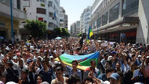 بعد مسيرة البيضاء.. عشرات الهيئات المدنية تدعو للمشاركة في مسيرة الرباط تضامنا مع معتقلي الريف