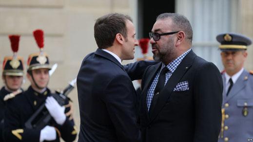 الملك يهنئ ماكرون بالعيد الوطني لبلاده ويجدد دعواته لمواصلة التعاون بين المغرب وفرنسا