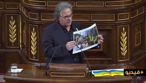 فيديو: برلماني كتلاني ينفجر في وجه الرئيس الاسباني.. الريف يعاني وأنتم تضعون المساحيق