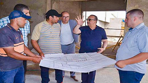 لعرج يطلع على مستوى تقدم المشاريع الثقافية المدرجة في برنامج التنمية المجالية الحسيمة منارة المتوسط
