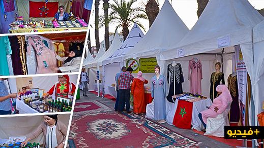 نساء من جميع أنحاء المغرب يعرضن منتوجاتهّن ضمن المعرض الوطني للتعاونيات النسائية وسط الناظور