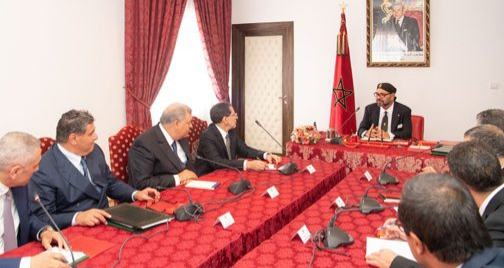 الملك يترأس بمدينة الحسيمة اجتماعا خصص لتفعيل التدابير التي تضمنها خطاب العرش