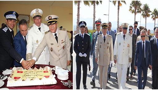 """عامل الناظور يترأس مراسيم تحية """"العلم"""" وأسرة القضاء تحتفي بذكرى عيد العرش"""