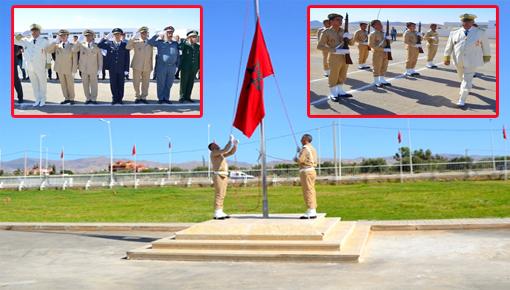 عامل إقليم الدريوش يترأس مراسيم تحية العلم الوطني في الذكرى الـ 19 لعيد العرش