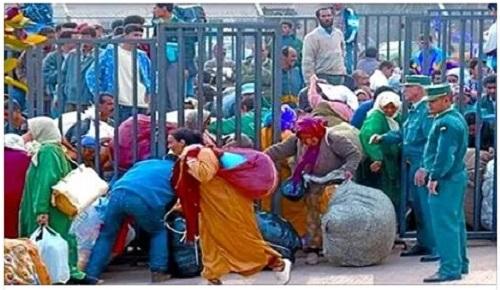 رجال أعمال مليلية يعتبرون قرار السلطات المغربية منع مرور البضائع من بني أنصار إنتهاكا للمعاهدة