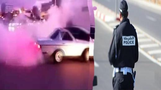 ألعاب بهلوانية وتفحيط بشوارع الناظور يقلق راحة المواطنين في انتظار تدخل الأمن
