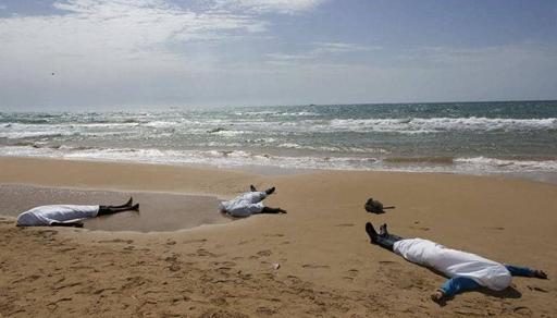 مصرع 5 مهاجرين مغاربة غرقا بعد إنقلاب قاربهم في عرض المتوسط