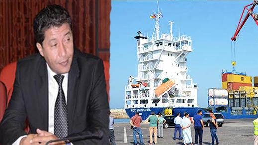 بعوي: مجهودات مجلس الجهة وباقي الشركاء مستمرة لإنعاش التصدير والاستيراد بالميناء التجاري بالناظور