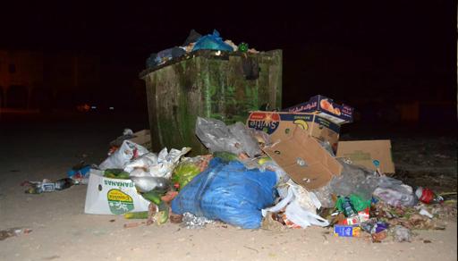 الدريوش: تراكم النفايات في معظم دواوير جماعة دار الكبداني يثير غضب الساكنة