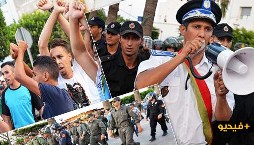 """بعد إعلانها التدخل.. قوات الأمن تفرق نشطاء """"حراك الريف"""" بعد كر وفر وسط الناظور"""