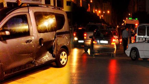 الدريوش.. مخمور يُحدث أضراراً جسيمة بعدد من السيارات ببن الطيب ويلوذ بالفرار