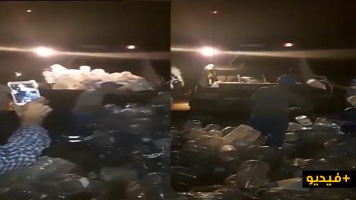 بعد فيديو يحذر المواطنين من خطر يهدد حياتهم.. السلطات تحجز أزيد من 2000 قنينة ماء بحامة بفزوان