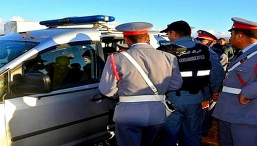 """حيازة قنطار من مخدر """"الكيف"""" معد للبيع تقود إلى اعتقال شخصين ضواحي الناظور"""