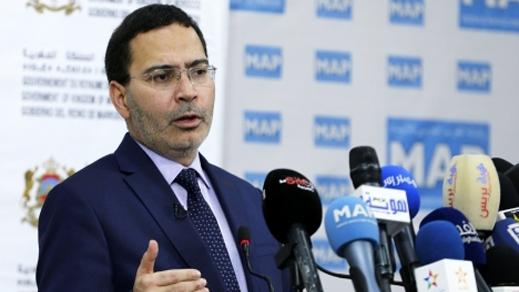 """هذا ما قاله مصطفى الخلفي الناطق الرسمي باسم الحكومة حول إنتشار فيديوهات """"الحراكة"""" بمدن الشمال"""
