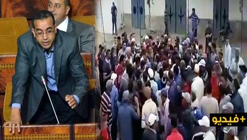 وسط سب وشتم.. مواطنون غاضبون يطردون برلماني وعضو مجلس جهة الشرق سعيد بعزيز
