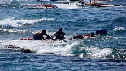 مصالح الإنقاذ البحري الاسباني تنقذ 60 مهاجرٍ سريّ انطقلوا من شاطئ ببويافر نواحي الناظور