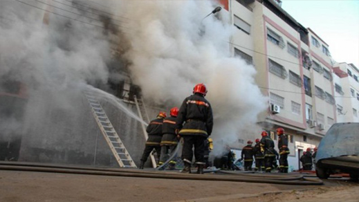 شاحن هاتف محمول يتسبب في حريق ويخلف خسائر مهمة بمنزل في زايو