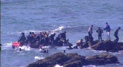 جماعة دار الكبداني.. احباط محاولة للهجرة السرية قام بها 28 شابا مغربيا بينهم 4 نساء