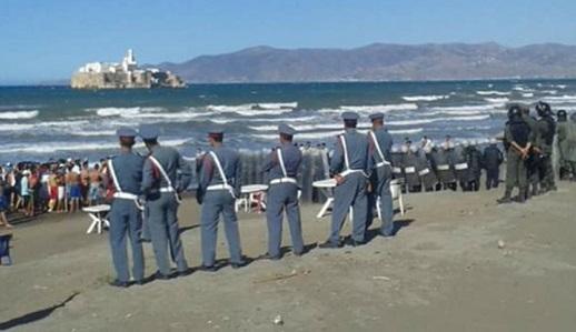 """وكالة اسبانية تكشف توجه المئات من الشباب إلى شواطئ الحسيمة بعد اشاعة نقل """"الحراكة"""" مجانا إلى اسبانيا"""