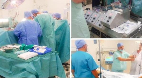 لأول مرة في مستشفى عمومي.. نجاح أول عملية جراحية لاستبدال الصمام الأبهري والأورطي